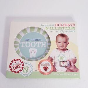 NEW Baby Milestone Stickers